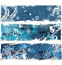 Christmas web banners vector