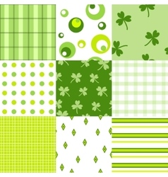 March 17 vector image vector image