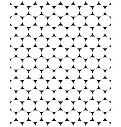 White circles seamless vector