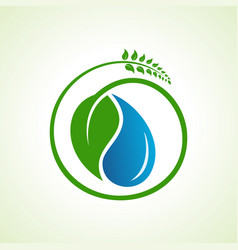 save water and environment concept stock vector image