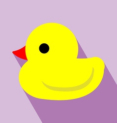 Duck icon vector