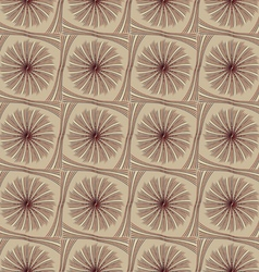 Abstract pattern of wavy lines vector image