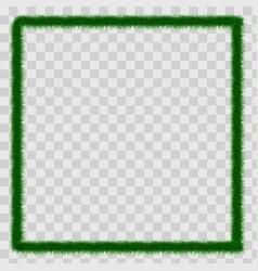 detailed seamless christmas garland of fir vector image
