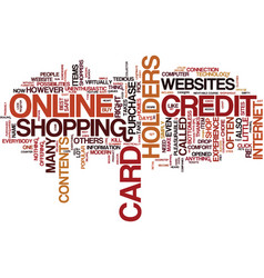 Empty the contents of your credit card holders vector
