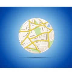 Globalization concept vector
