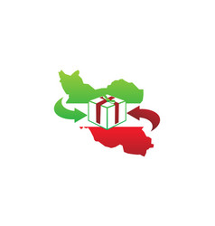 Iran package delivery vector