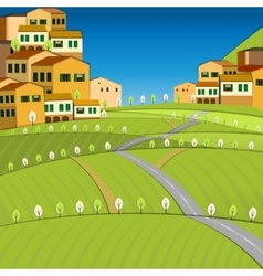 02 Italy City vector image vector image
