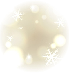 Light warm snowy background vector