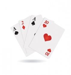 Cards icon vector