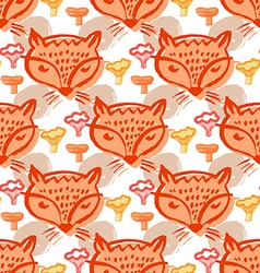Fox pattern6 vector
