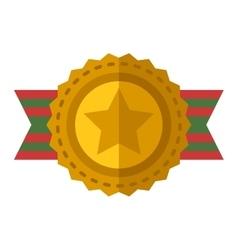 Sports award icon vector