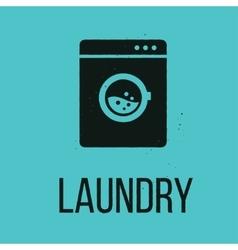 Laundry icon vector