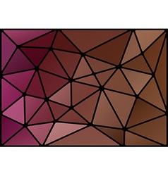 triagles purple black vector image