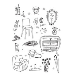 Daily supplies vector
