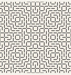Geometric ethnic background with symmetric lines vector