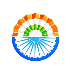 indian concept design vector image