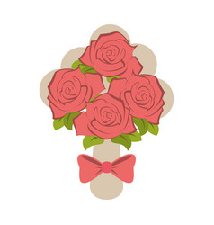 wedding related icon image vector image
