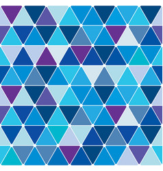 winter triangle pattern 22 vector image vector image