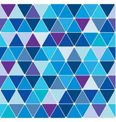 Winter triangle pattern 22 vector