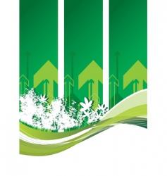 woodland arrows vector image