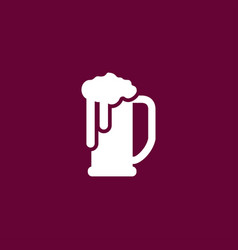 Beer icon simple vector
