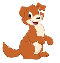 Cartoon Puppy Dog vector image