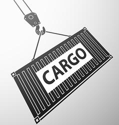 Container cargo stock vector