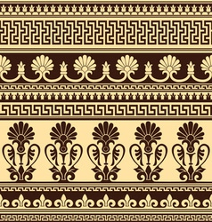 Greek design seamless vector