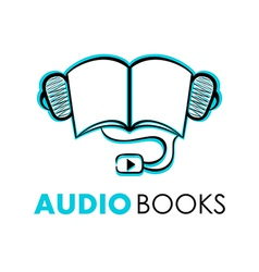 Audio books vector