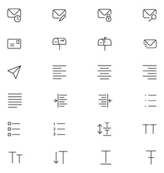 User interface icons 11 vector