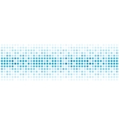 Abstract blue shiny lights background vector image