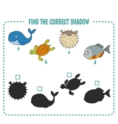 marine fish vector image