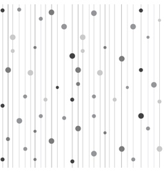 Seamless pattern with stripes and circles vector