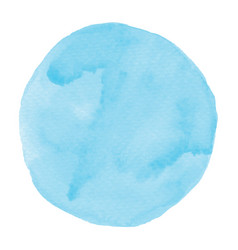 abstract blue watercolor on white background vector image