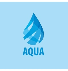 Logo water vector