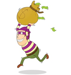 Successful thief vector image