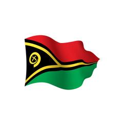Vanuatu flag vector