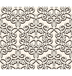Vintage seamess lace vector