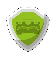 Car isurance service icon vector