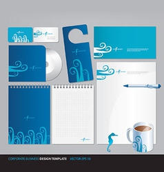 Corporate business design template vector