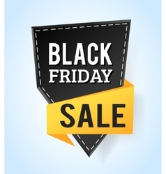 Black friday sale badges vector