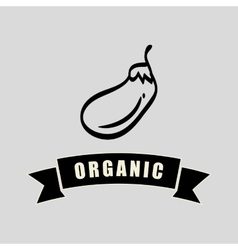 organic food design over white background vector image