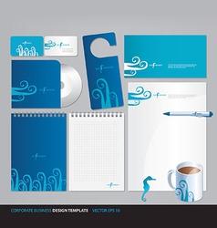 Corporate business design template vector