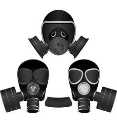 gas masks vector image