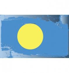 Palau national flag vector image
