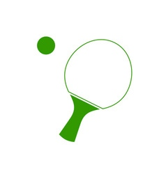 Ping-Pong-Racket-380x400 vector image