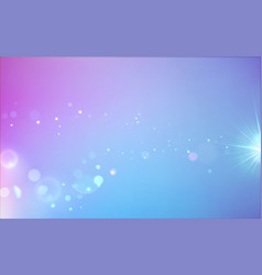 soft blue abstract background vector image vector image