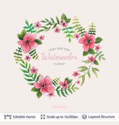 Vintage background template for greeting card vector