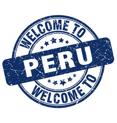 Welcome to peru vector