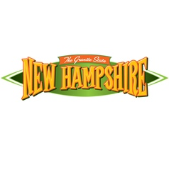 New hampshire the granite state vector